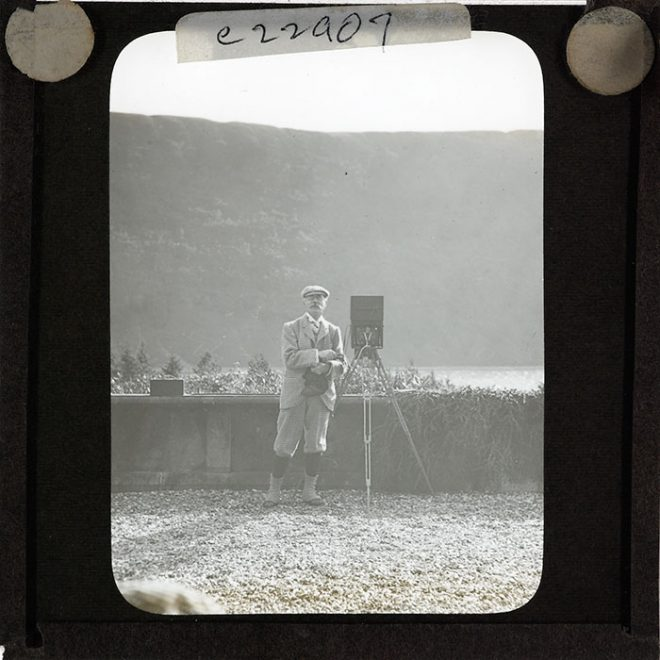 Early photograph of an early photographer