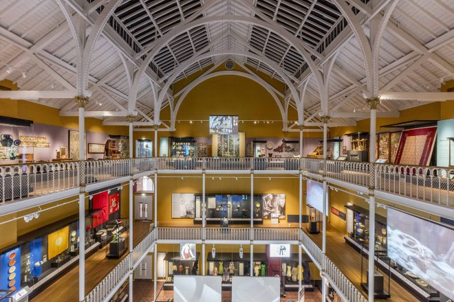 Art and Design galleries at the National Museum of Scotland