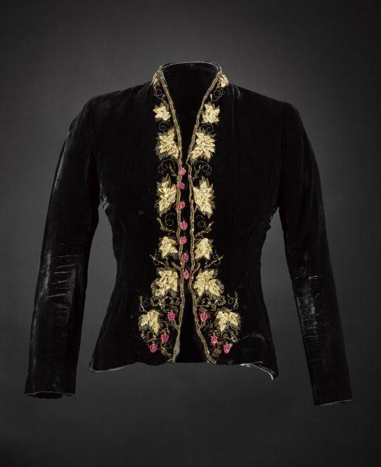 Evening jacket by Elsa Schiaparelli, 1937-38.