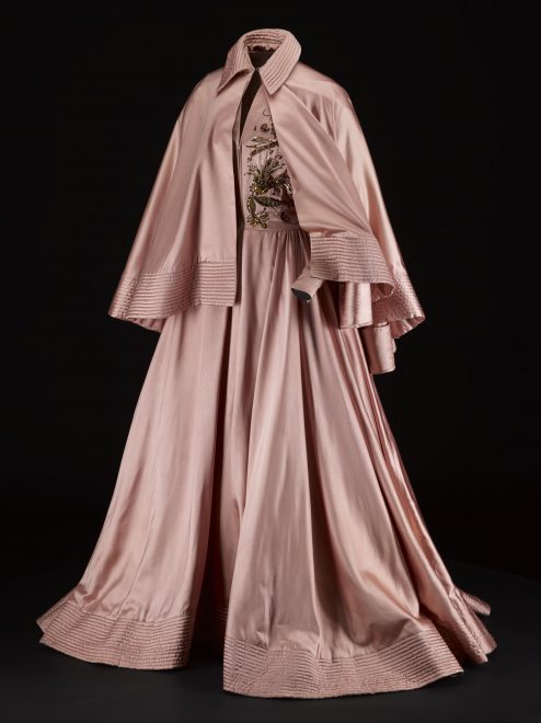 Ball gown by Jacques Fath, c.1948.
