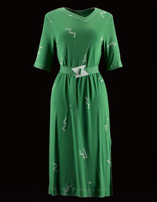 Woman's dress, by Jean Muir Ltd, Spring 1980