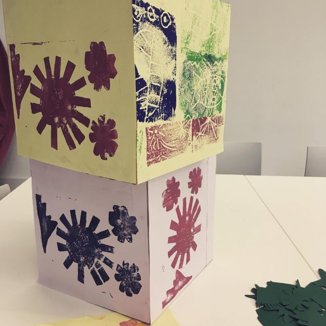 Workshop images from Mini Makers for 3 to 5 years olds