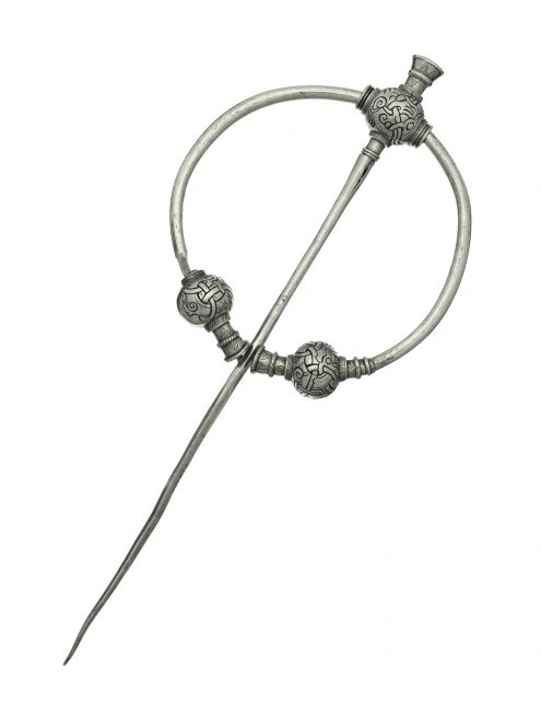 Viking Age silver brooch from the Skaill hoard