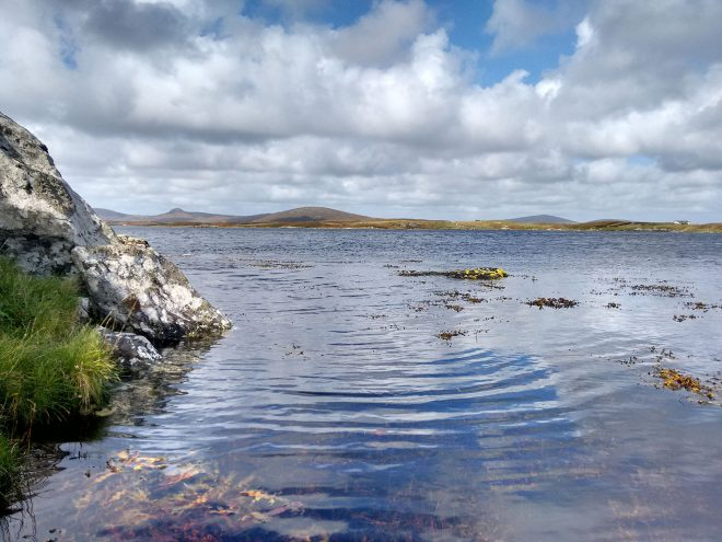 A saline lagoon: Loch an t-Sruith Mhòir, North Uist