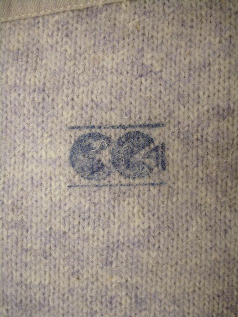 Wool vest Stella utility mark c.1942-1945 A.1989.102