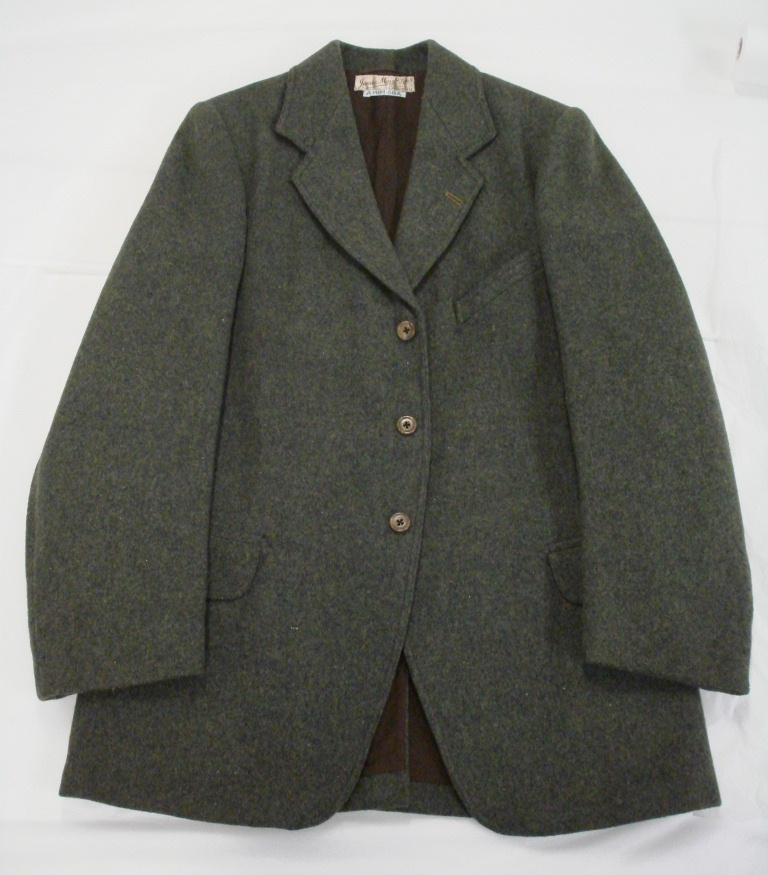 Suit jacket early to mid-20th century A.1989.58