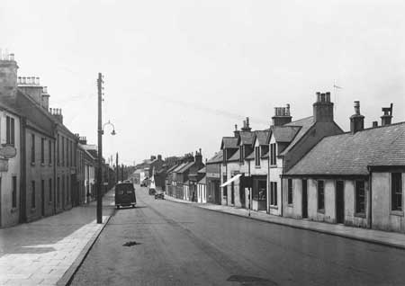 Carnwath 1957. Image courtesy of St Andrews University scran image