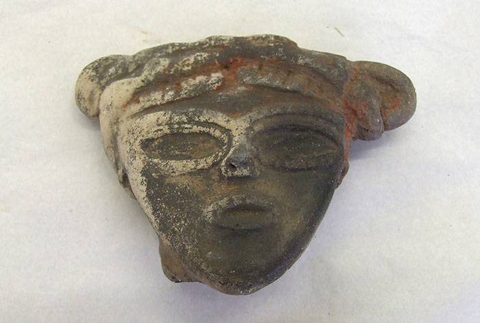 Jomon period dogu figure head