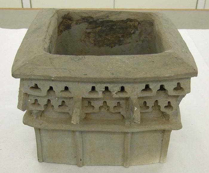Architectural Kofun period haniwa