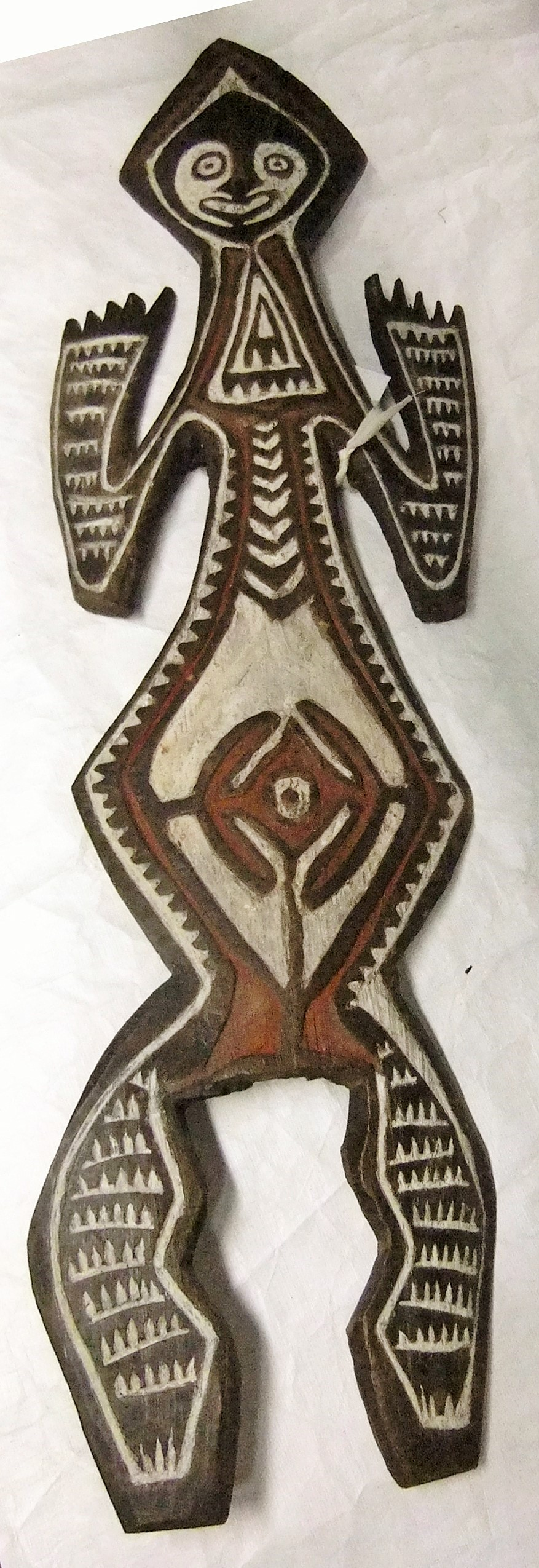 A.1951.366 Carved wooden memorial figure