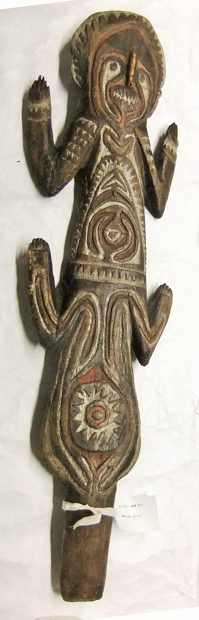 A.1951.367 kwoi or ancestral tablet in the form of a man