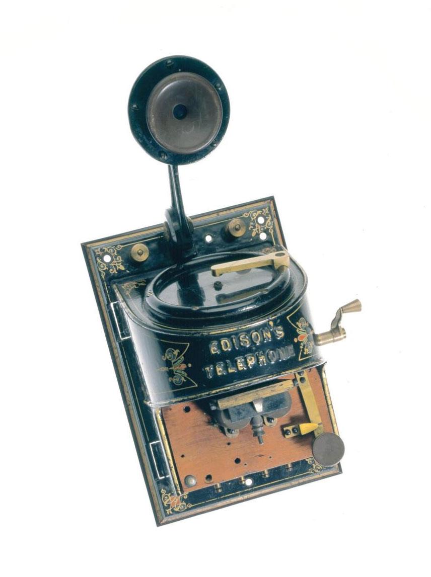 Edison loud speaking telephone