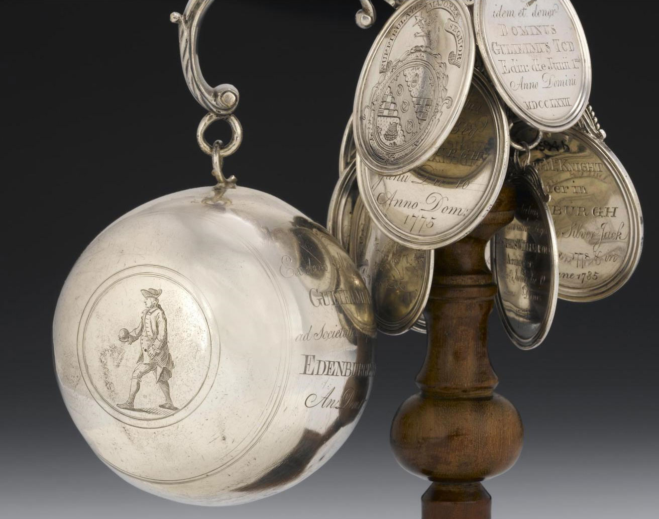 Bowling trophy of the Edinburgh Society of Bowlers, c. 1771