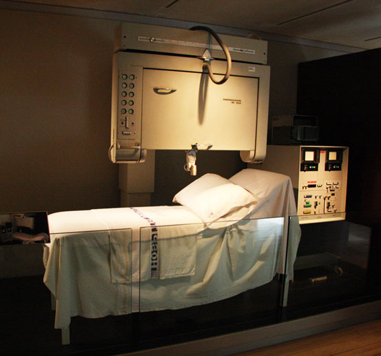 Ultrasound scanner on display in the Scotland: A Changing Nation gallery