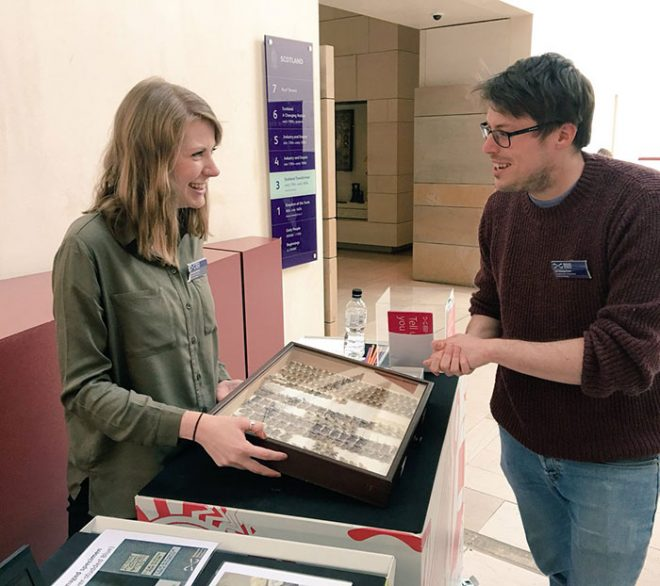 Successfully teaching people about digitisation with the help of Assistant Curator of Entomology, Ashleigh Whiffin