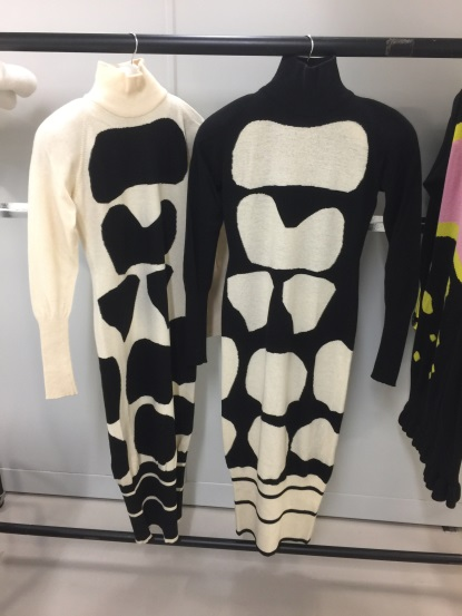 A selection of garments from the 1988 Australia Collection by Jean Muir.