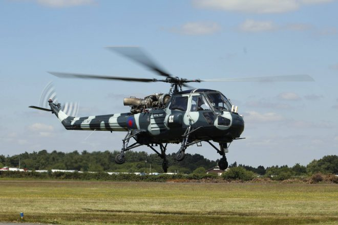 Westland Wasp XT787 will drop in for Scotland's National Airshow on Saturday 22 July Photo: courtesy of Chris Martin