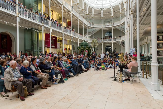 Free Fringe Music at the National Museum of Scotland in 2016