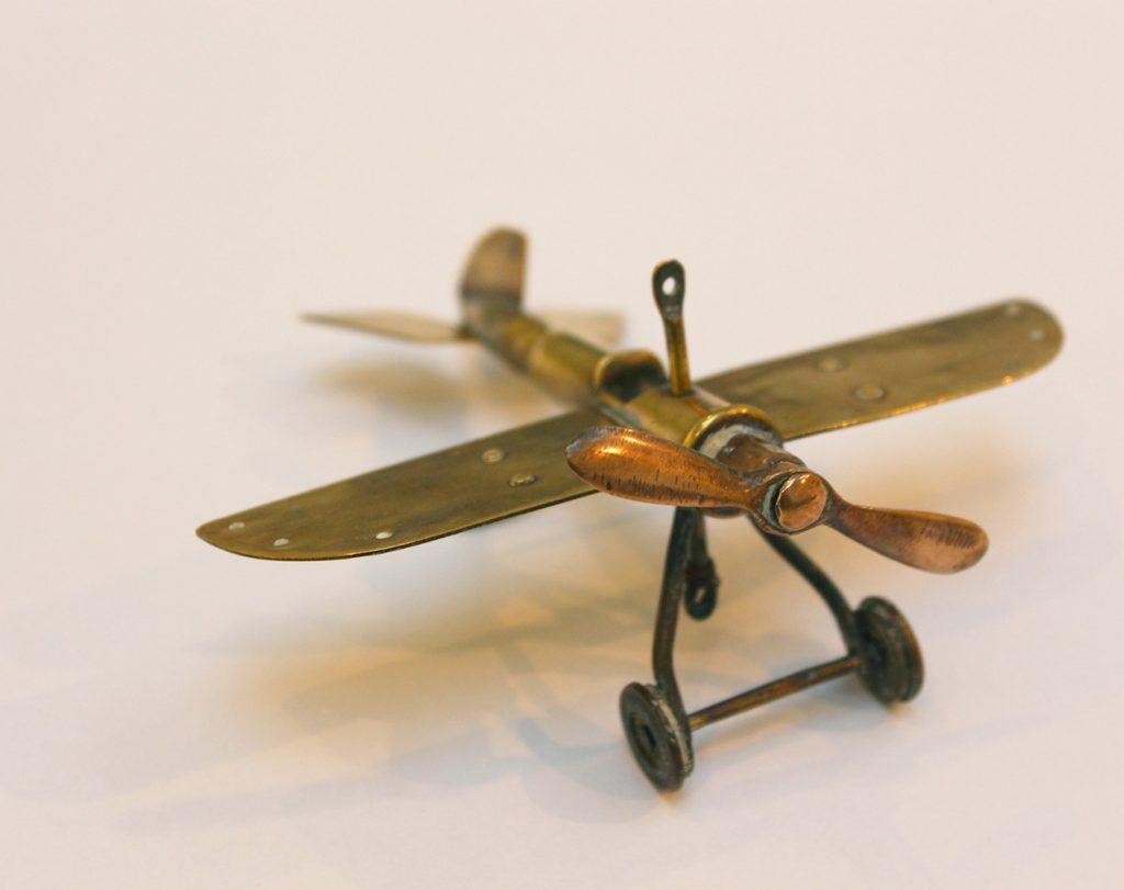 Trench Art Airplane