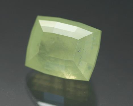 Cut prehnite from Boylestone Quarry