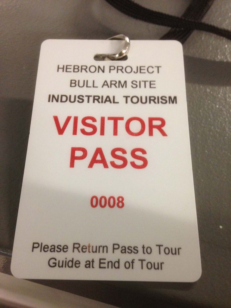 Visiting Bull Arm Construction Yard, Trinity Bay © Sue Jane Taylor