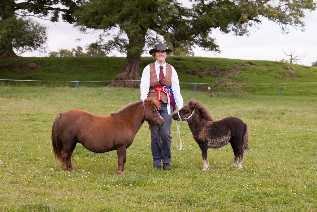 Proud rosette winners at the Heavy Horse Show © Ruth Armstrong.