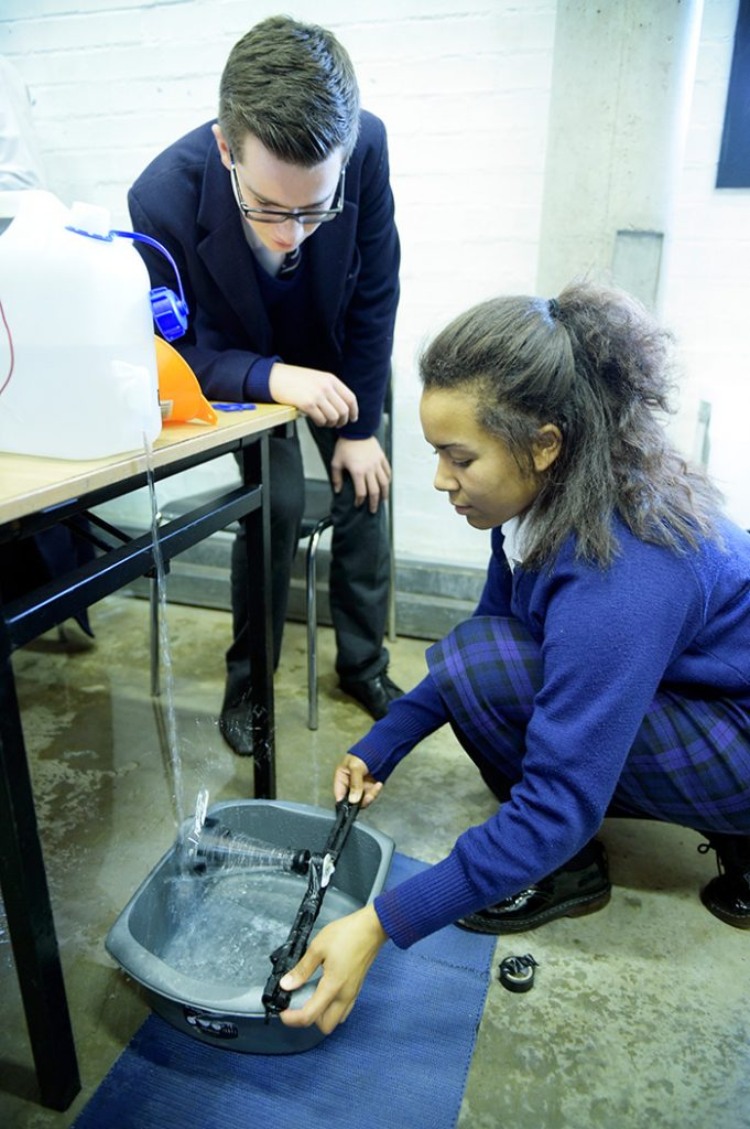 Pupils taking part in a Get Energised workshop.