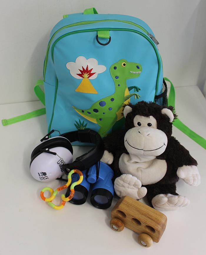 Sensory backpack