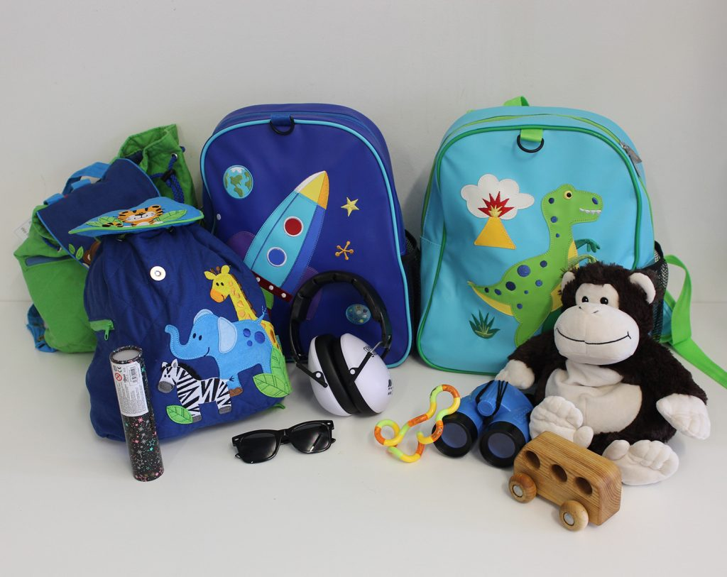 Backpacks for autistic children
