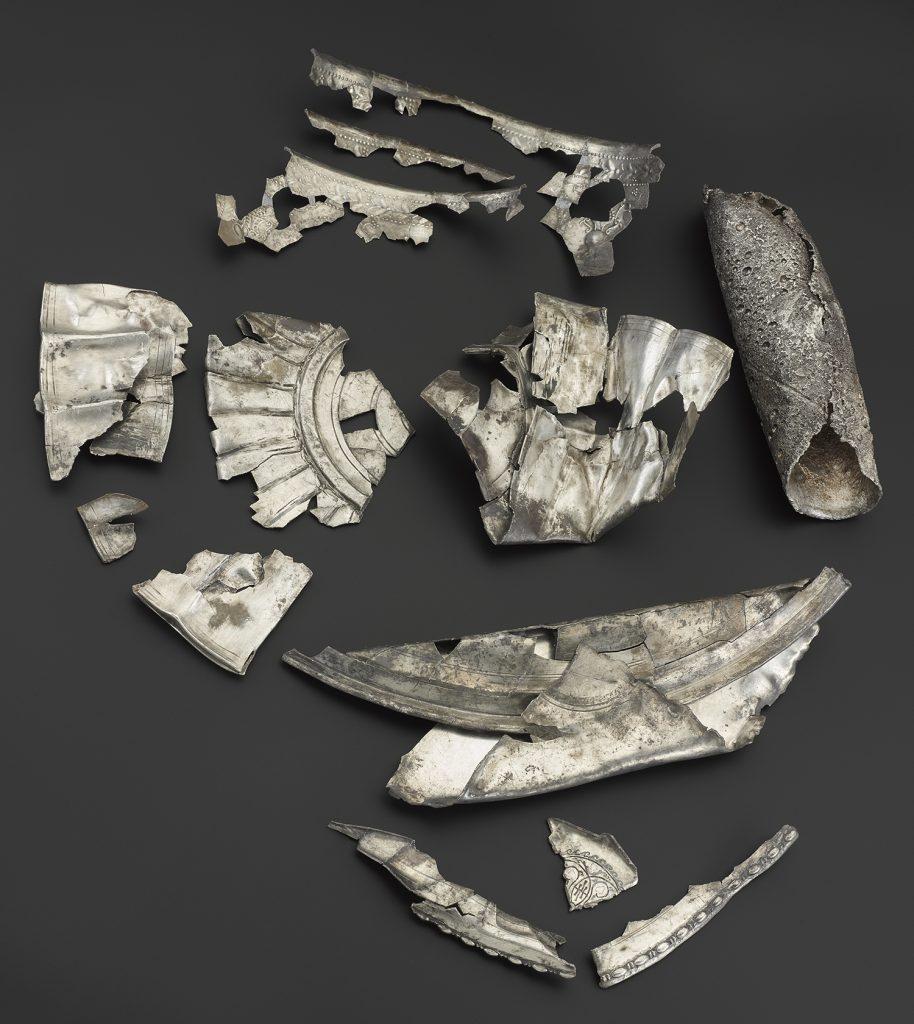 The Roman hacksilver hoard from Dairsie, Fife.