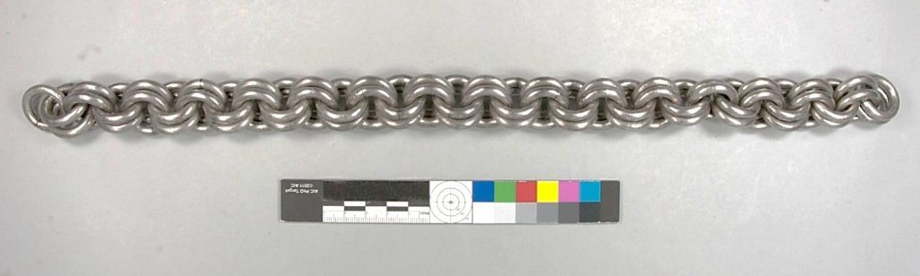 One of the nine massive chains after conservation.