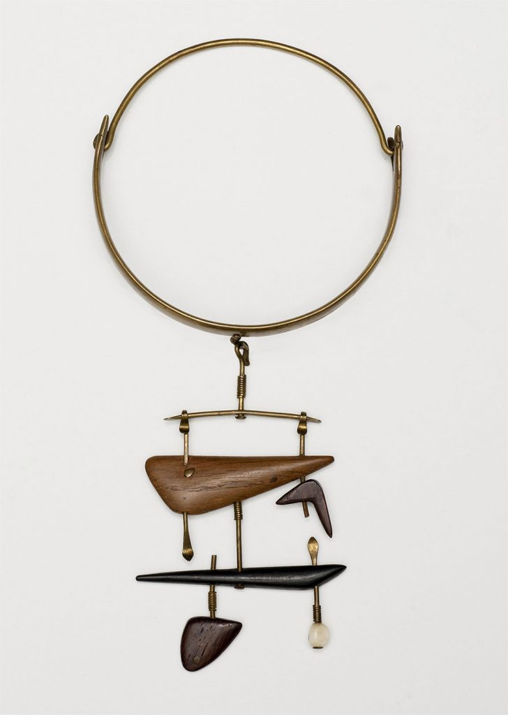Necklace, Vivianna Torun Bülow- Hübe, c.1950. NMK 44/2012 Photo: Nationalmuseum