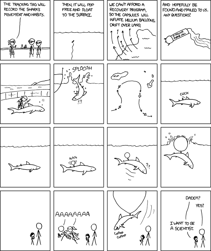 Outreach by xkcd.com https://xkcd.com/585/