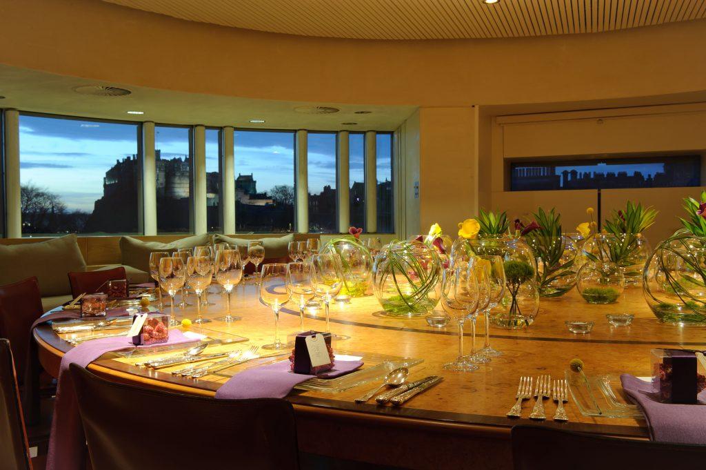 Dinner in the Board Room