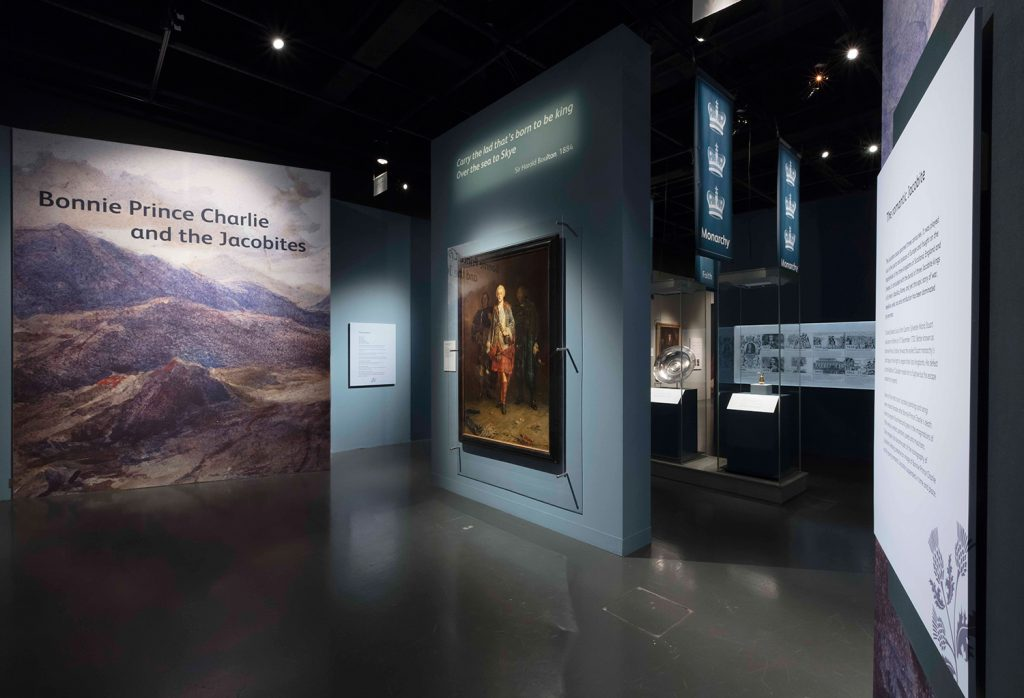 The Bonnie Prince Charlie and the Jacobites exhibition at the National Museum of Scotland