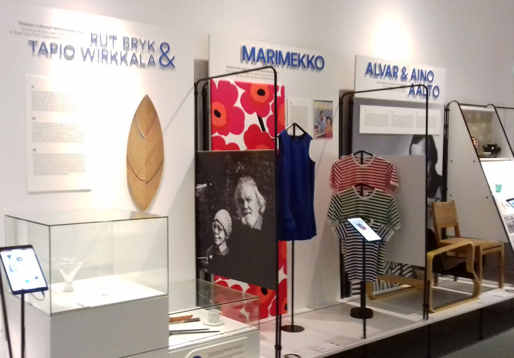 Leading Finnish designers within Designmuseo, Helsinki