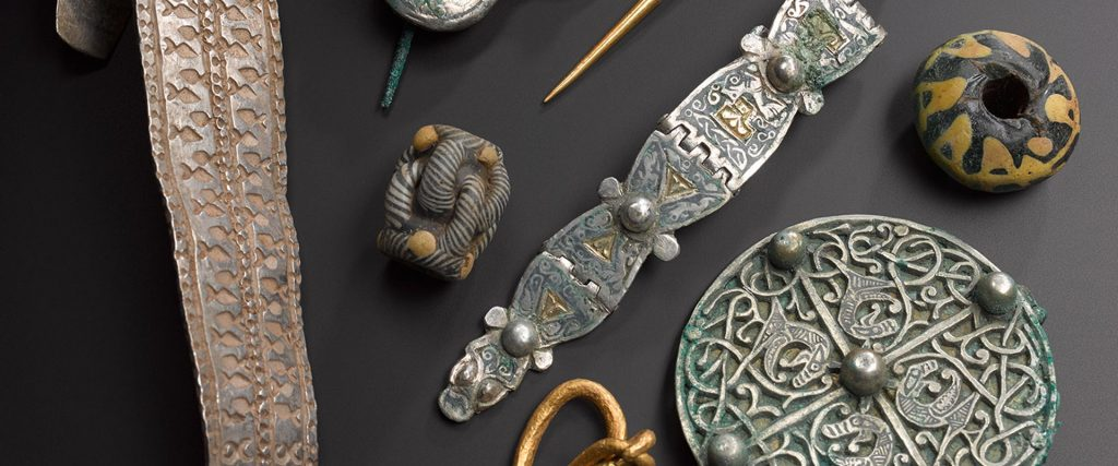 Objects from the spectacular Galloway Hoard