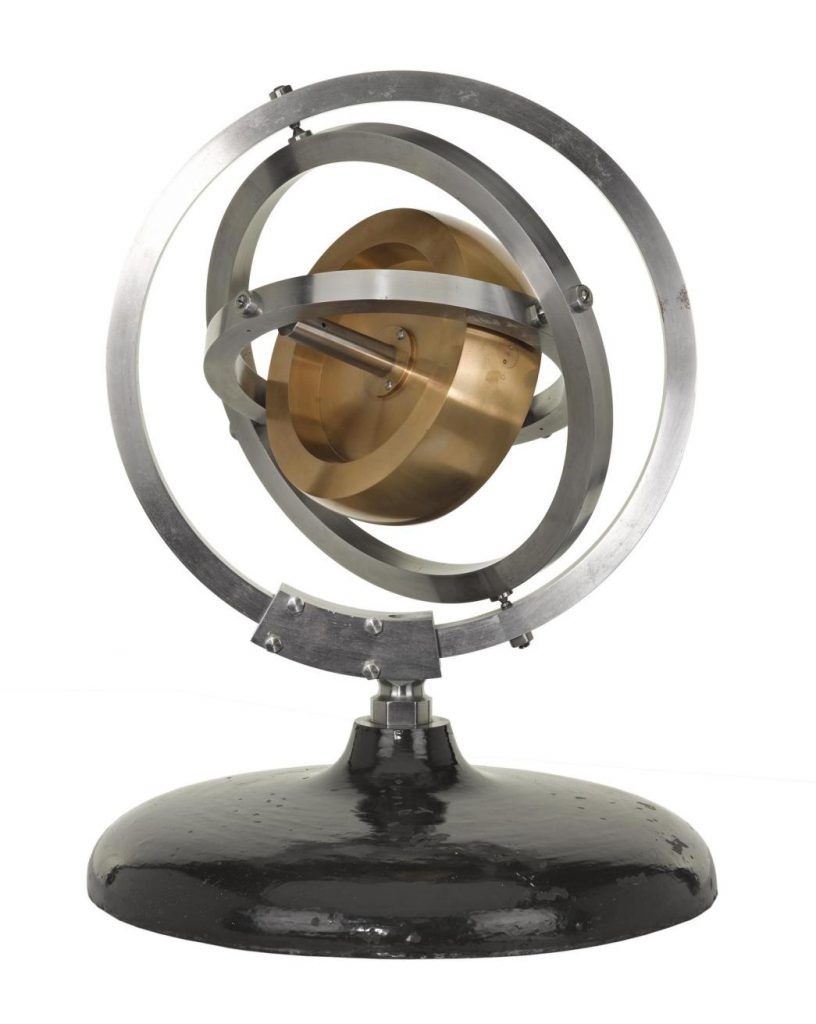 Gyroscope made by Edward Sang and purchased from him by the museum