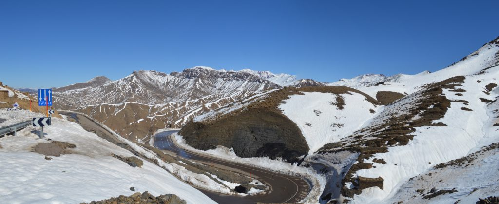 Panorama of the High Atlas