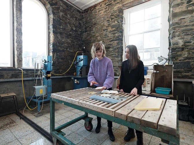 Karlyn Sutherland in conversation with Sarah Rothwell, Curator, Modern & Contemporary Design, National Museums Scotland.