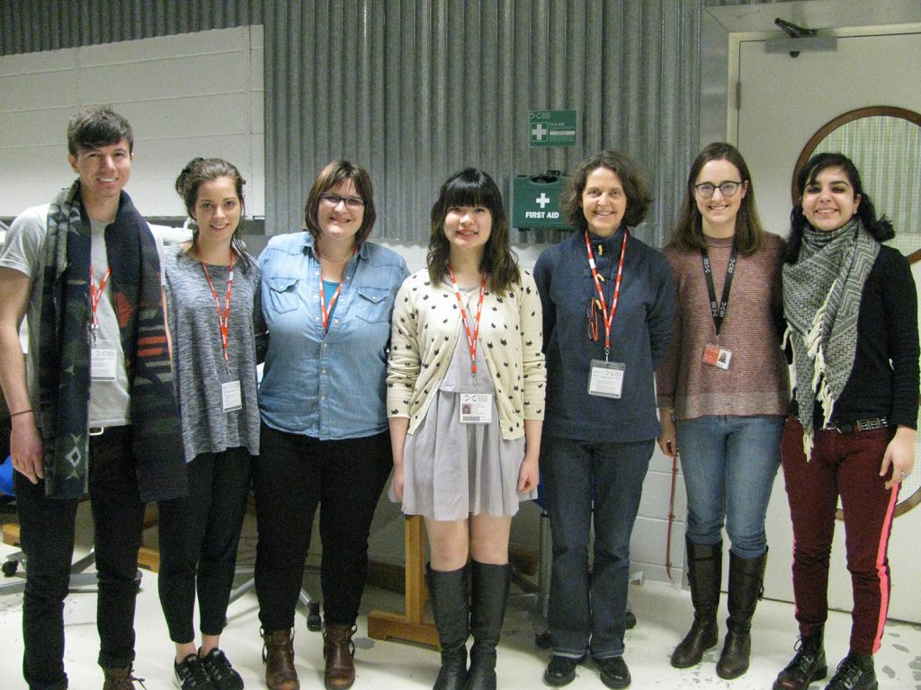 Derrin, Rosie, Kate, Shawn, Lorna, Margot Murray and Amreet Kular (UCL intern).