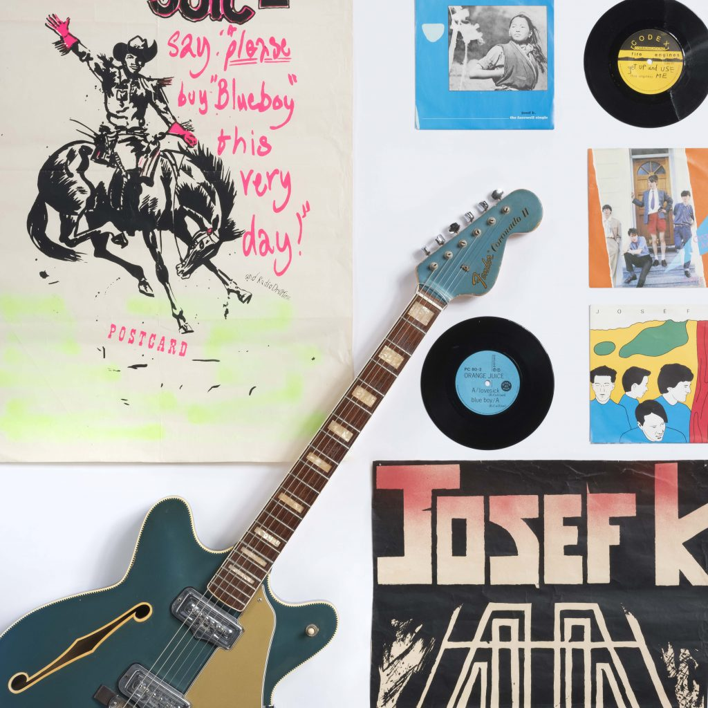 Objects related to Postcard Records.