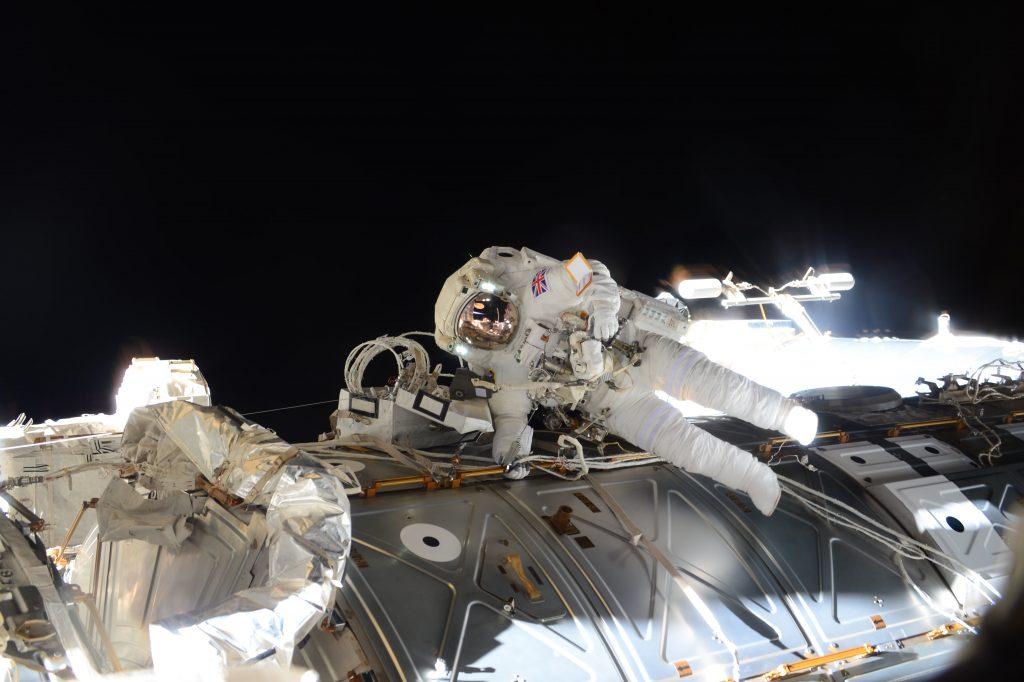 Principia spacewalk © ESA/NASA