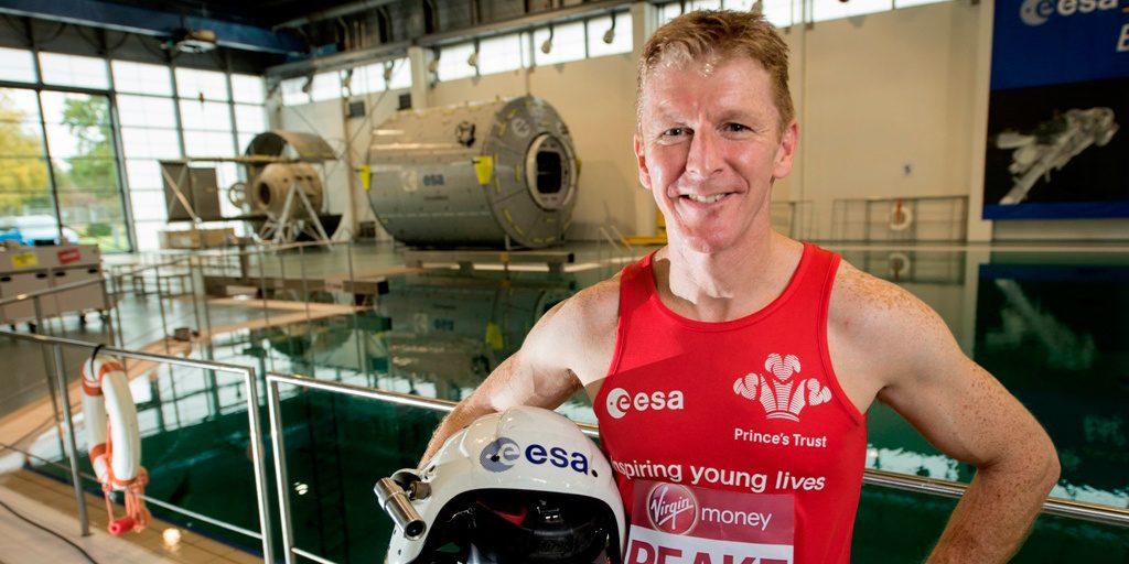 Tim Peake at EAC © ESA/NASA