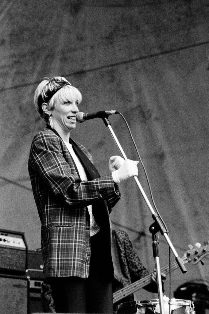 Annie Lennox photographed by Harry Papadopoulos.