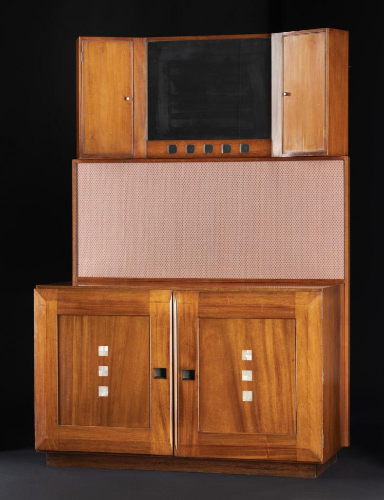 Washstand designed by Charles Rennie Mackintosh