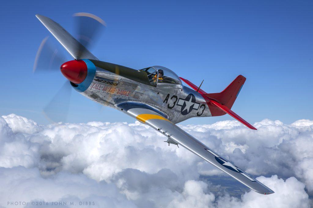 North American P-51D Mustang © John Dibbs