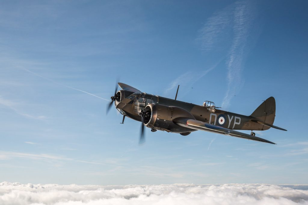 Bristol Blenheim from the Aircraft Restoration Company Second World War Bristol Blenheim © George Romain, Aircraft Restoration Company.