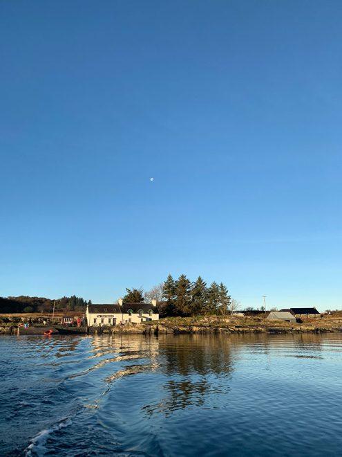 The shorefront, Ulva