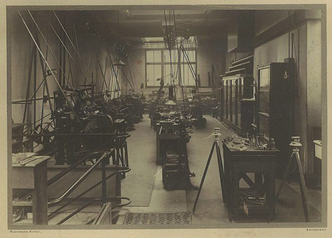 The Museum workshop during the First World War